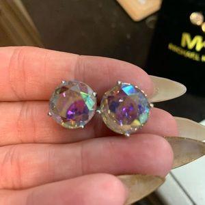 Kate ♠️ spade gum drop Iridescent earrings